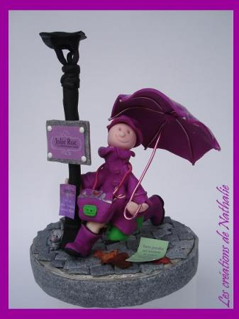 Mademoiselle mes petits personnages en pate fimo les - Personnage en pate fimo ...